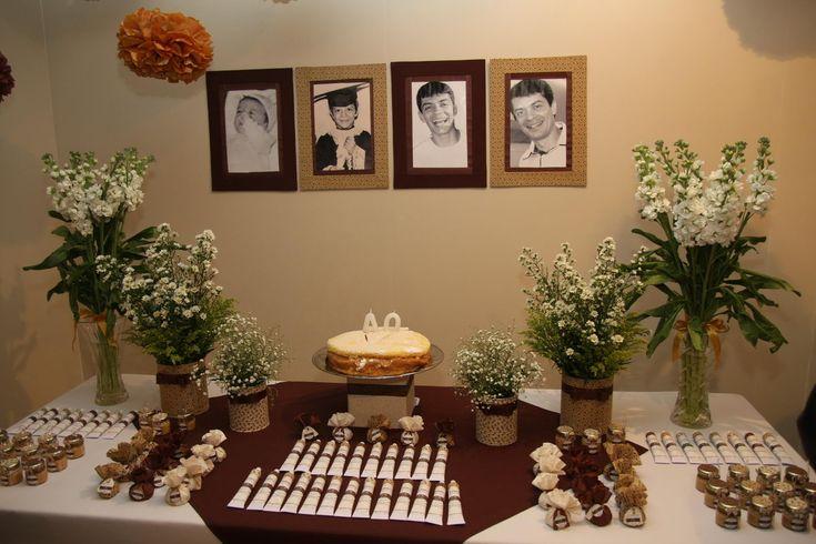 decoração de mesa festa masculina - Pesquisa Google