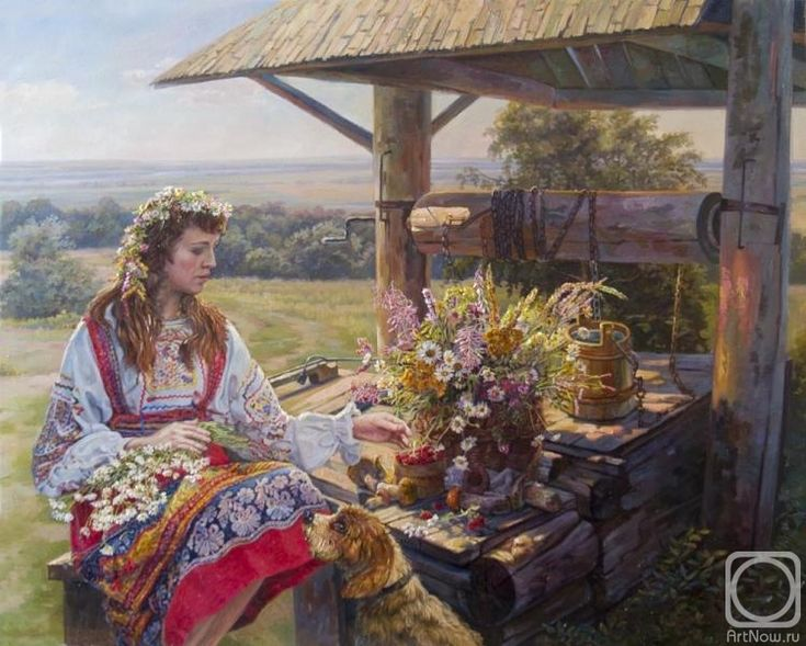 Панов Эдуард. Русское лето