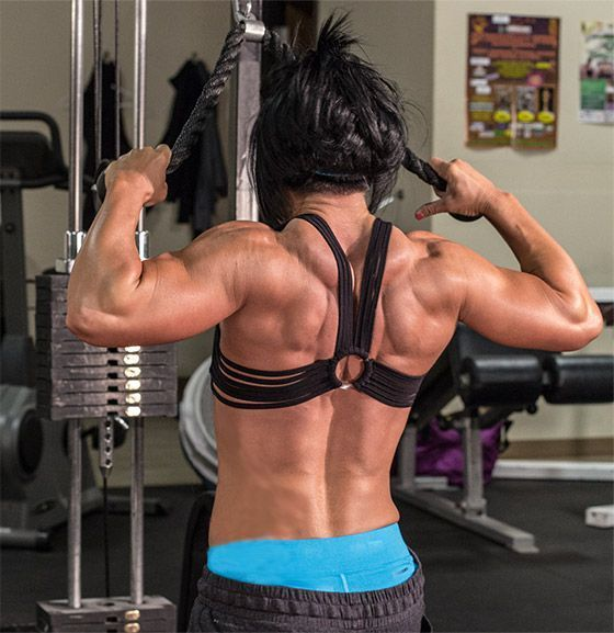 Bodybuilding.com - Delt Homicide: Dana Linn Bailey Shoulders Workout...exactly the workout I've been looking for!