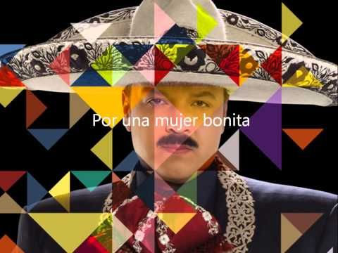 Pepe Aguilar - Por Una Mujer Bonita (con letra/ with lyrics) - YouTube