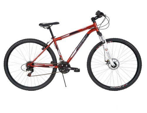 Huffy Men's Bantam Mountain Bike, Mirror Red, 29-Inch/Large - http://mountainbikesforsales.com/huffy-mens-bantam-mountain-bike-mirror-red-29-inchlarge/