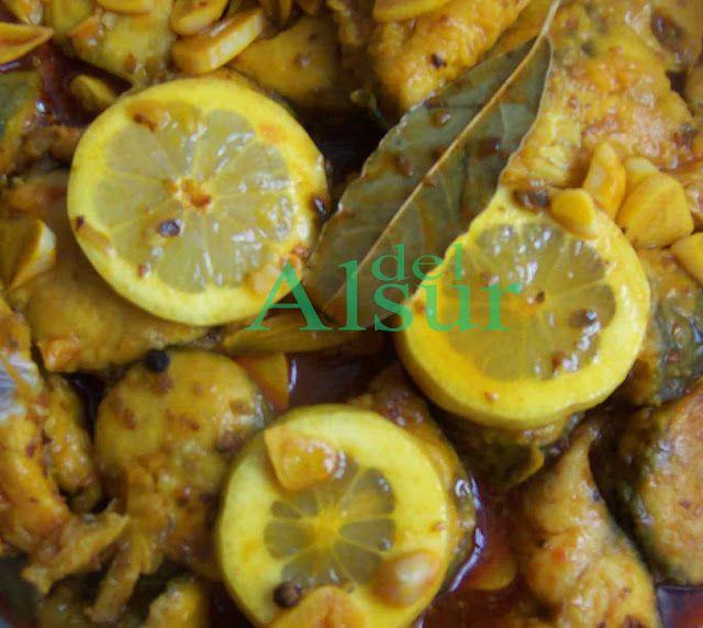 La cocina malagueña-Alsurdelsur: Escabeche de caballa