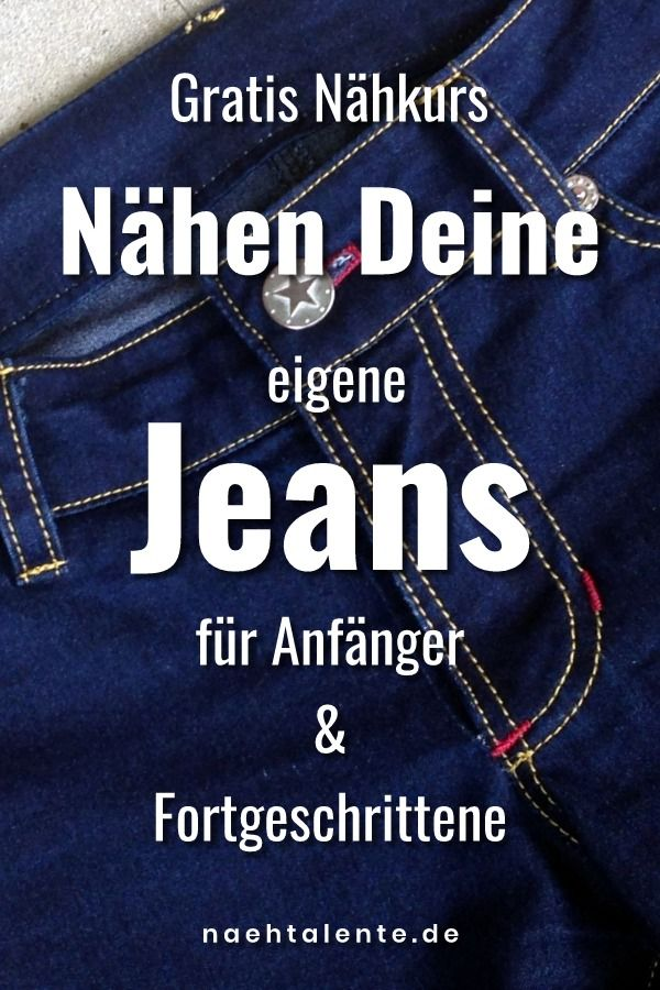 Jeans Sew Along 2018: How to sew a pair of jeans?