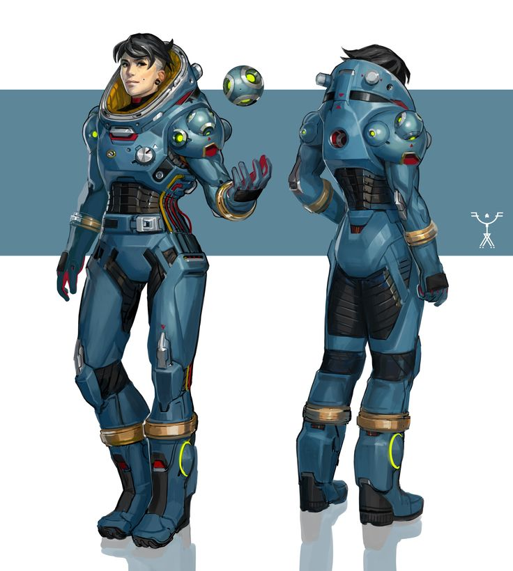 2932 best images about art characters on pinterest for Space suit design