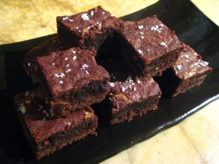 Mini Sea Salt Caramel Brownies | Food and Recipes | Pinterest