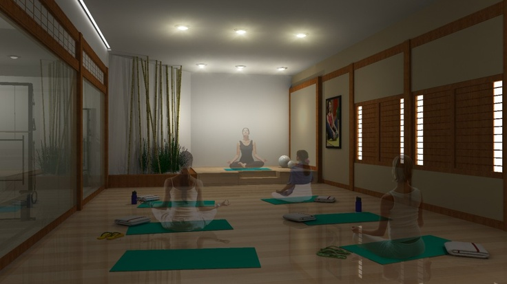 13 Best Yoga Studio Room Design Ideas Images On Pinterest