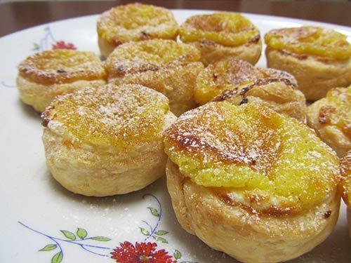 La ricetta dei famosi pasticcini portoghesi. Il #pasteisdenata, o pastel de Belém è un pasticcino portoghese a base di uova.