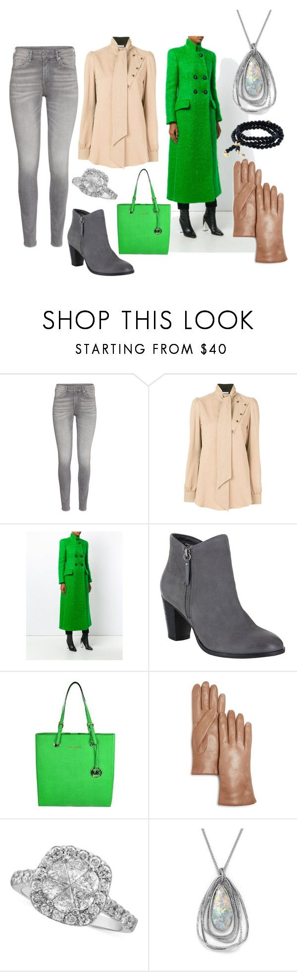 """""""winter outfit"""" by moestesoh ❤ liked on Polyvore featuring J.W. Anderson, Giorgio Armani, MIA, MICHAEL Michael Kors, Bloomingdale's, BillyTheTree and Tamara Comolli"""