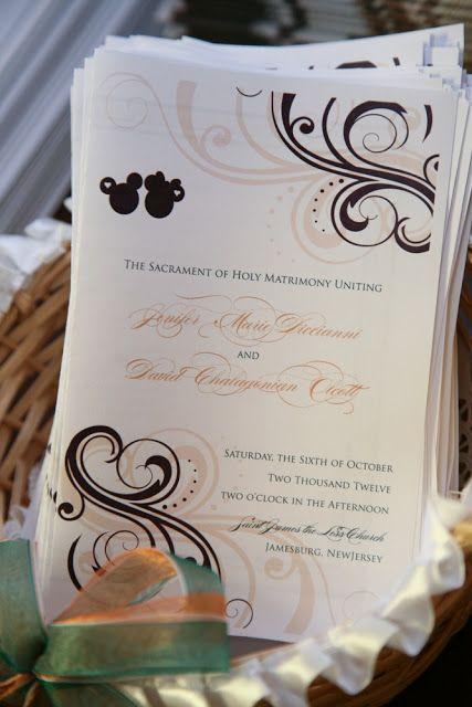 At Home Disney Wedding - http://inspiredbydis.com/?br=http://www.disneyweddinginspiration.com/2013/01/at-home-disney-wedding-jenifer-and-david.html