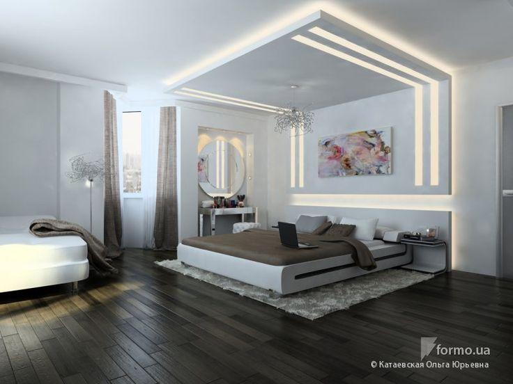 Двухуровневая квартира в стиле минимализм, Катаевская Ольга Юрьевна, Спальня…