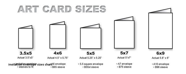 invitation envelope sizes chart standard size greeting. Black Bedroom Furniture Sets. Home Design Ideas