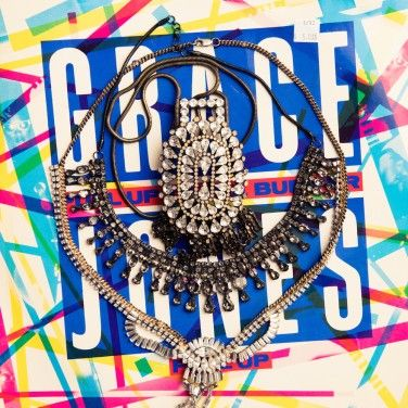 Necklaces by Dannijo, Megan Park, and Alyssa Norton: http://www.thecoveteur.com/jen-mankins-bird/