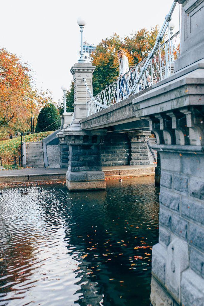 Boston Public Garden Prosecco and Plaid
