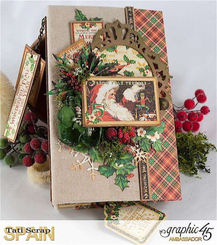 Tati, Christmas Planner, St. Nicholas, product by Graphic 45.