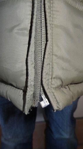 Méthode simple pour réparer une fermeture éclair qui s'ouvre sur un blouson