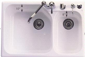 Thermocast kitchen sinks awesome thermocast corp kitchen sinks with mythos dropin double bowl granite kitchen sink in polar white kitchen pinterest granite kitchen sinks granite kitchen and with thermocast kitchen sinks workwithnaturefo