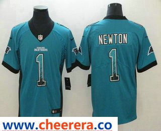 ed4cc08f3d8 2 01228 cd8f1; discount code for mens carolina panthers 1 cam newton blue  2018 fashion drift color rush stitched