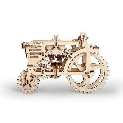 UGEARS 3D Mechanische Puzzle Traktor 70003