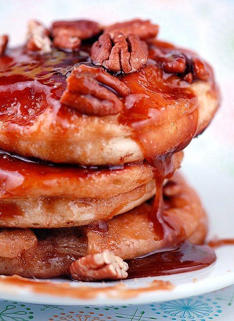 Sticky Bun Pancakes