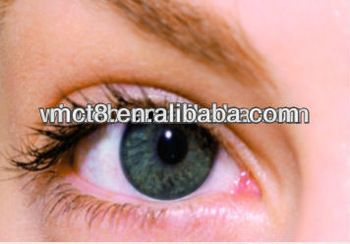 Humanized youthful green color contact lens barbie eye contact lens with good quality and low price