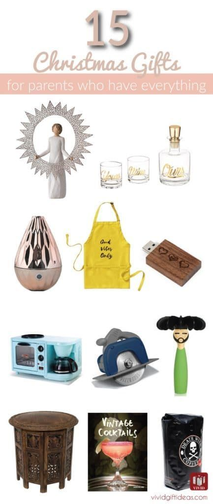 christmas holiday gifts for mom and dad who have everything