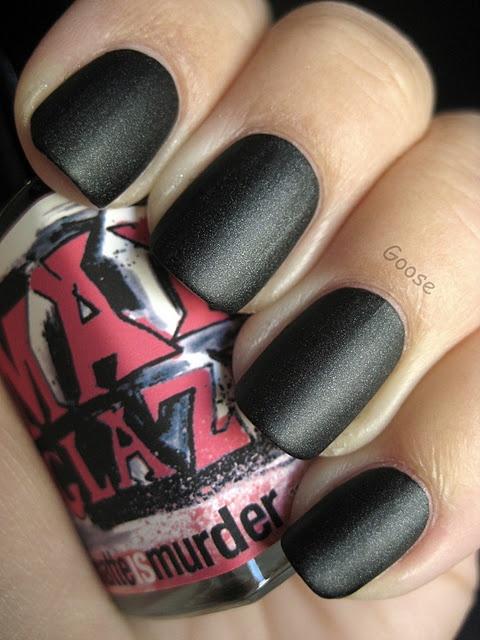 ManGlaze - Matte is Murder, great matte shimmery black!