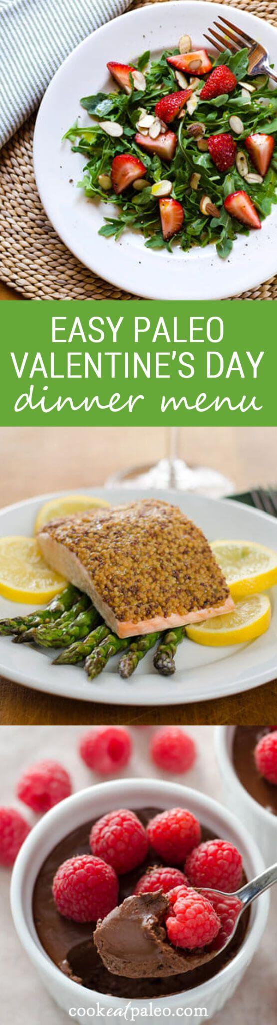 Paleo valentine s day meal ideas - Easy Paleo Valentine S Day Dinner Menu