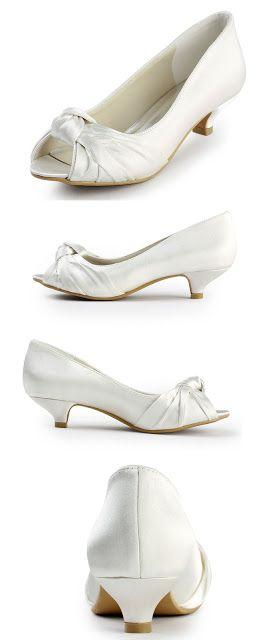 vory wedding shoes Elegantpark EP2045 Women's Peep Toe Low Heel Knot Bridal Wedding Shoes $49.95 & FREE Returns on some sizes and colors.