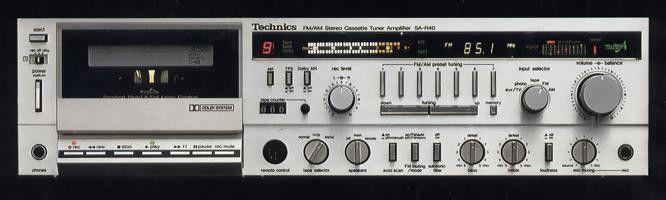 Technics SA-R40 (launched 1981)