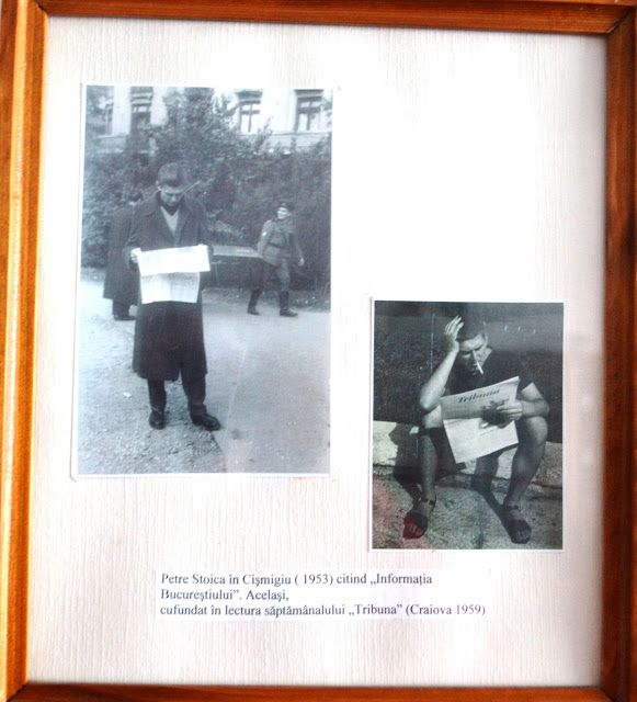 Petre Stoica, remember necesar: Petre Stoica, Parcul Cismigiu in 1953