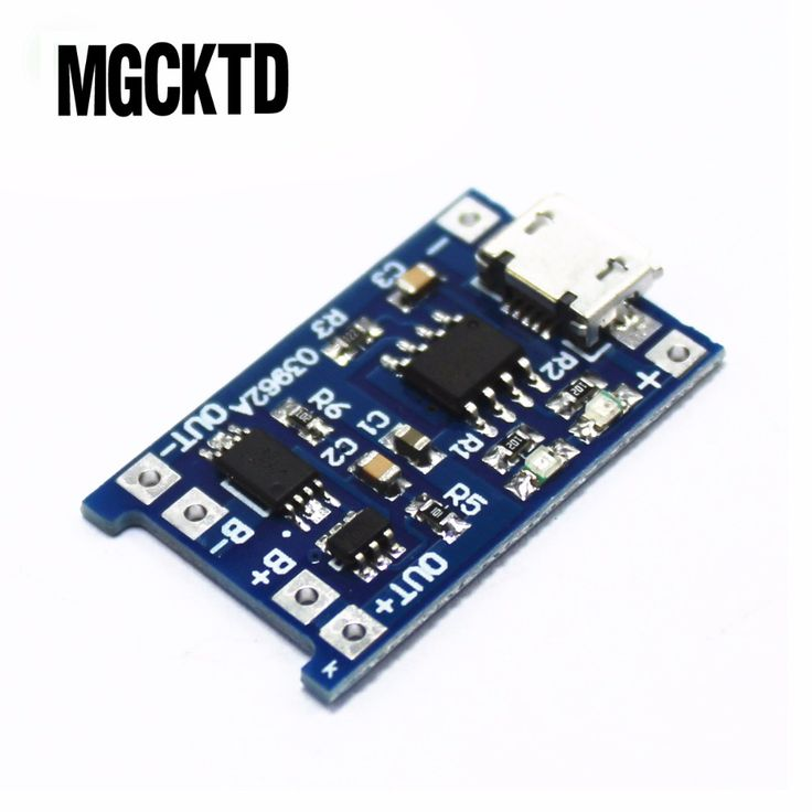 5pcs Micro USB 5V 1A 18650 TP4056 Lithium Battery Charger Module Charging Board With Protection Dual Functions 1A Li-ion #Affiliate