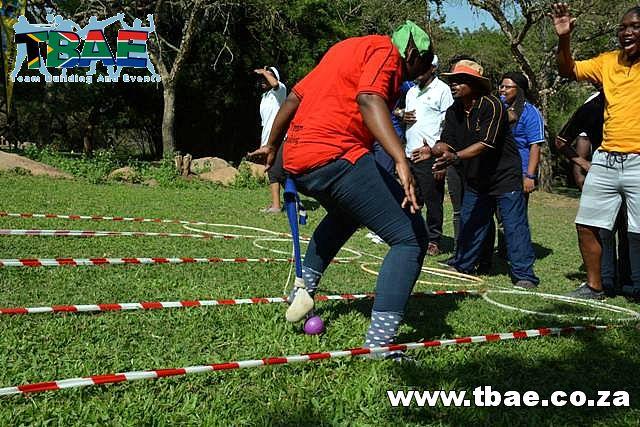Pendulum Walk Team Building Activity