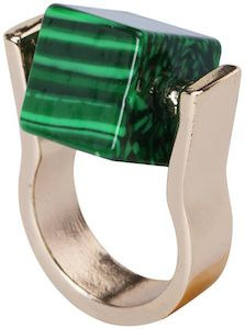 Green Rotatable Green Ring