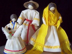 Novios de hoja de maíz - artesanum com