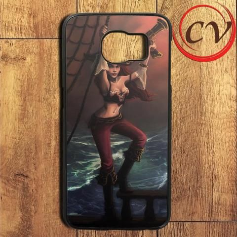 Sexy Girl Miss Fortune League Of Legend Samsung Galaxy S7 Edge Case