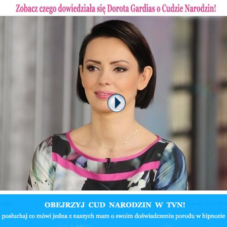 """hipnoza do porodu """"cud narodzin"""" w TVN :) mama opowiada o swoim doświadczeniu hipnoporodu <3   http://dziendobry.tvn.pl/wideo,2064,n/hipnoza-w-czasie-porodu-pomaga-w-bolu,145481.html  www.cud-narodzin.pl"""