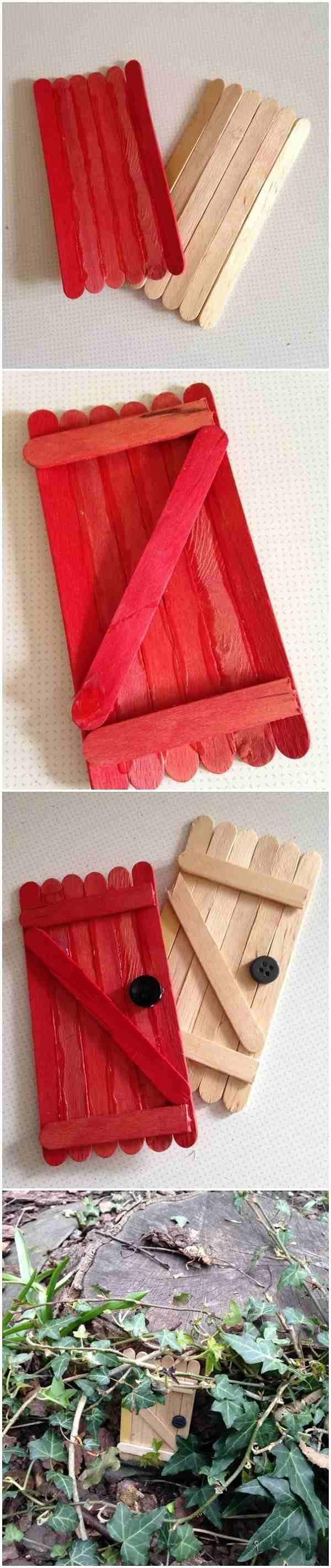 The 25 best lollipop sticks ideas on pinterest lolly for Fairy doors to make