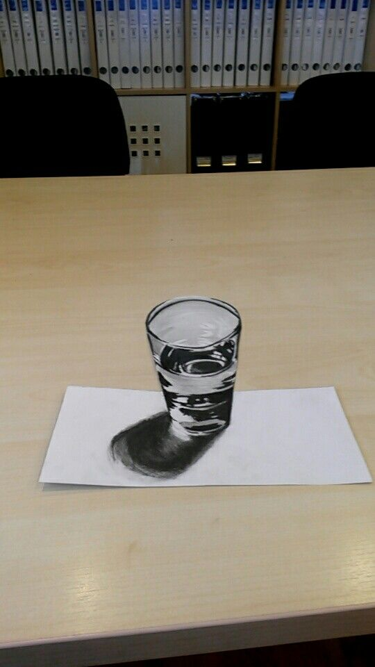 My first 3D draw