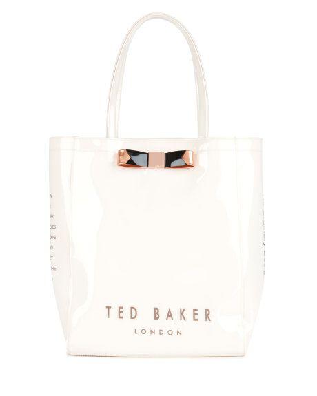 Bow shopper bag - Cream | Bags | Ted Baker