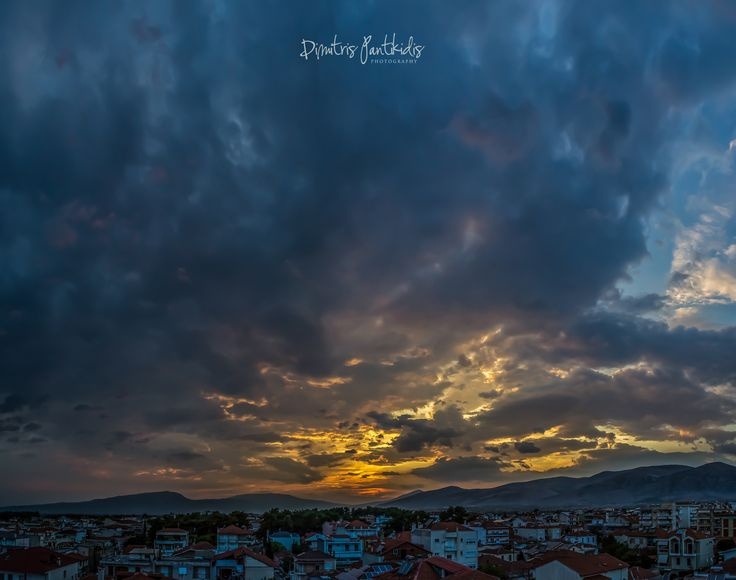 Drama-tic sunset  by Dimitris Pantikidis on 500px