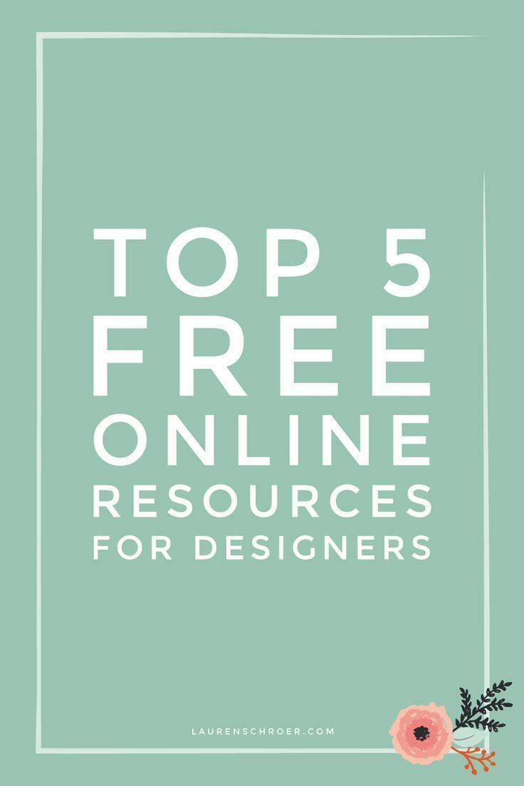 Top 5 poster design software - Top 5 Free Online Resources For Designers Lauren Schroer Graphic Designer Blogger