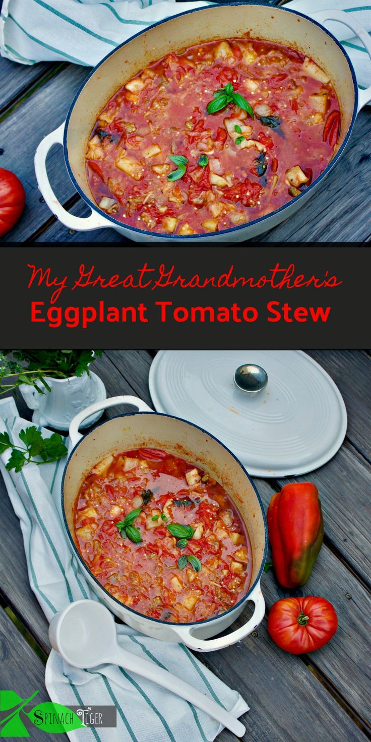 Italian Simple Eggplant Recipe from Spinach TIger