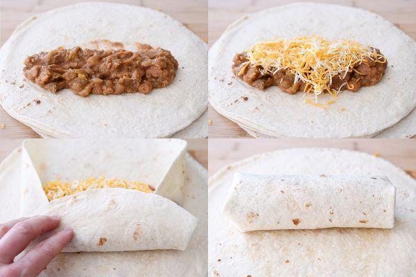 My Mom S Famous Freezer Beef And Bean Burritos Mel S Kitchen Cafe Homemade Burritos Burritos Healthy Freezer Meals