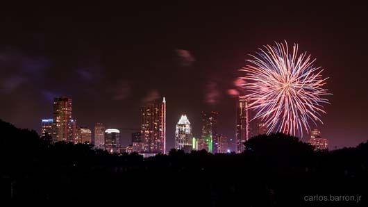 4th of july austin fireworks