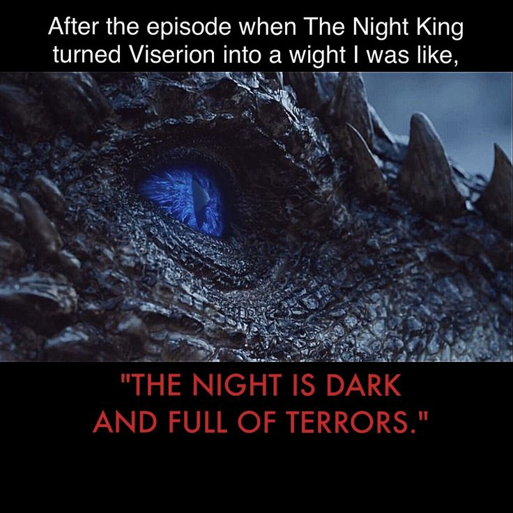 Undead dragon controlled by ice demon who can make zombies? Sleep well. Game of Thrones funny memes. (If I could choose a champion to protect me it would totally be Arya Stark, hands down biggest badass on the show.)