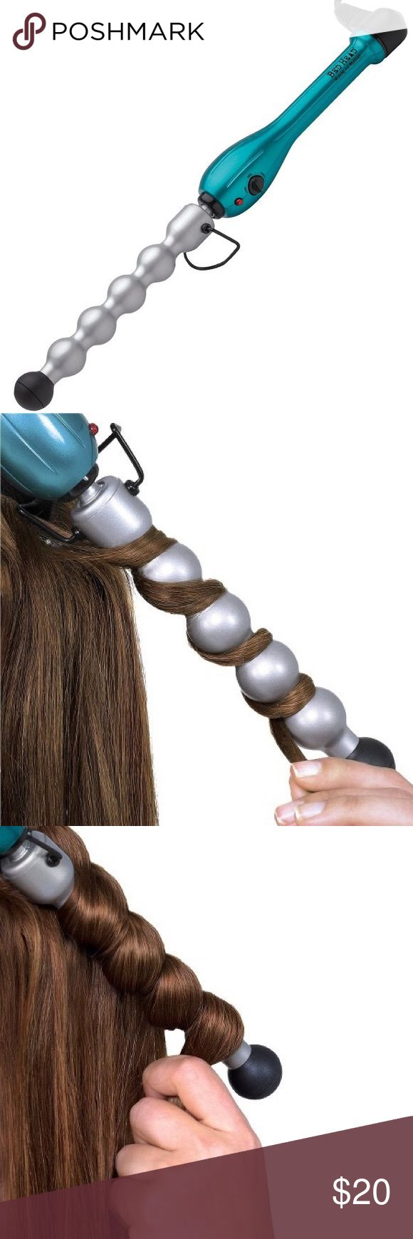 Bed Head Rock-n- Roller 2-in-1 Bubble Curling Wand NWOT! I bought this curling wand thinking I would use it but I have never used it and my hair is too short to even curl it anymore. It did come with a glove which I have somewhere but I can't seem to find it. If I find it I will add it with the wand! Please let me know if you have any questions!  ⚡️ fast shipper: same day or next day  top-rated seller  30% off with bundles BedHead Accessories Hair Accessories