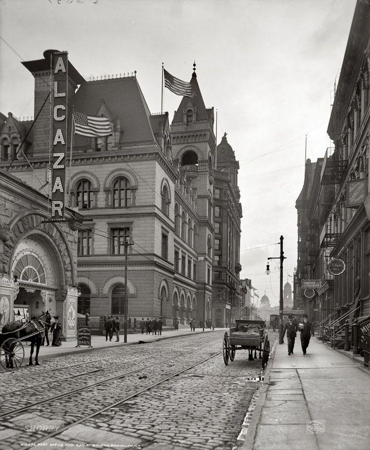 Post Office, Brooklyn, New York, 1906.