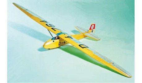 KRICK - 02310190 - Motoplaneur Radiocommandés / Radio Controlled Aircraft GRUNAU BABY II B - 1/6