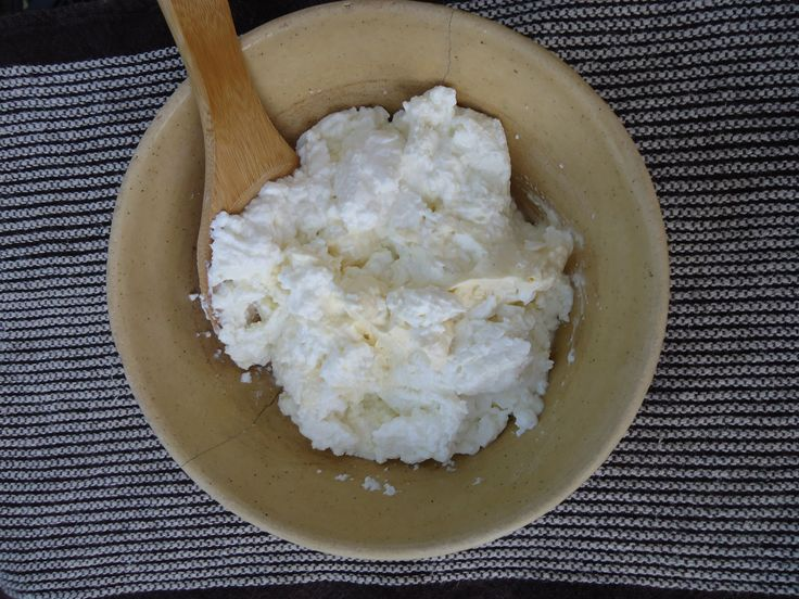 Homemade Cottage Cheese, 1839 Style First, let me say that this won ...