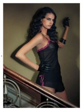 Model at Midnight: Daniela Freitas